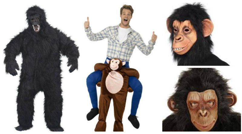 abe kostume til voksne abekostume abe maske maske til abeudklædning abekostume til fastelavn abe kostume til temafest gorilla kostume chimpanse kostume