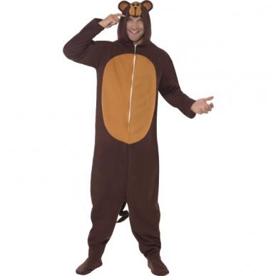 abe kostume til voksne abekostume abeudklædning cool abe sidste skoledag kostume