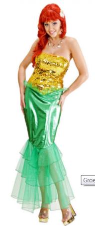 ariel kostume til kvinder den lille havefrue udklædning voksne