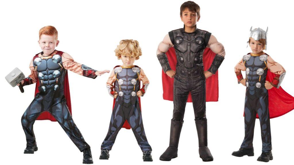 avengers 4 thor kostume thor børnekostume tor kostume fastelavn