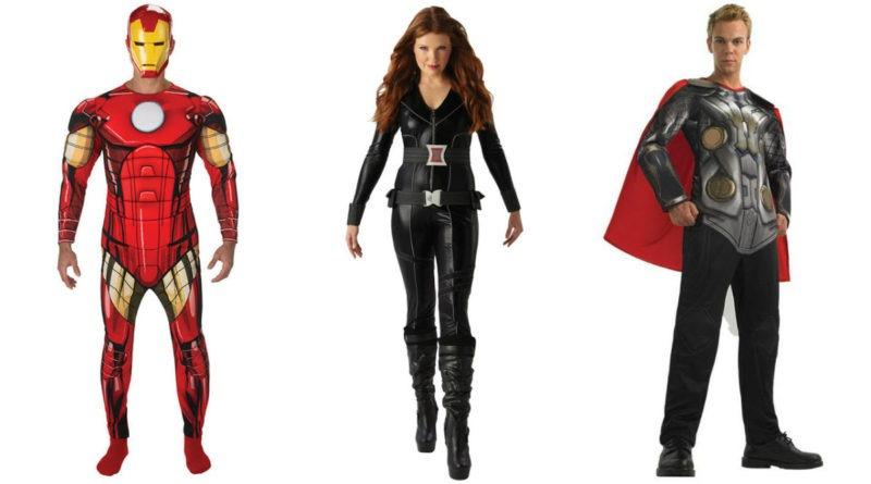 avengers kostume til voksne iron man kostume til voksne black widow kostume til voksne hulk kostume til voksne captain america kostume til voksne