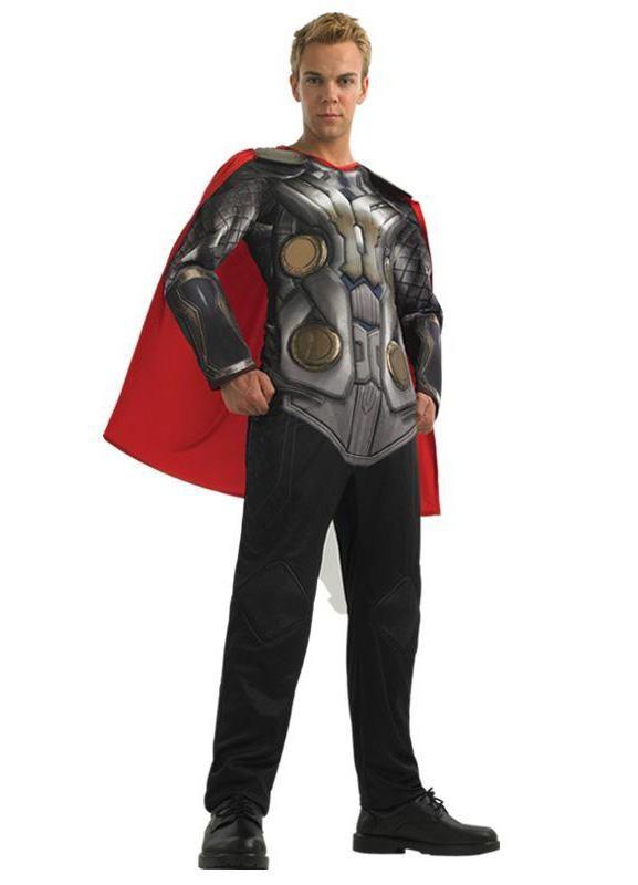 avengers kostume til voksne thor kostume til voksne avengers thor udklædning superheltekostume