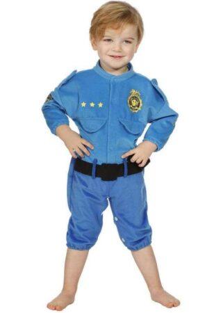 baby politi heldragt politi kostume