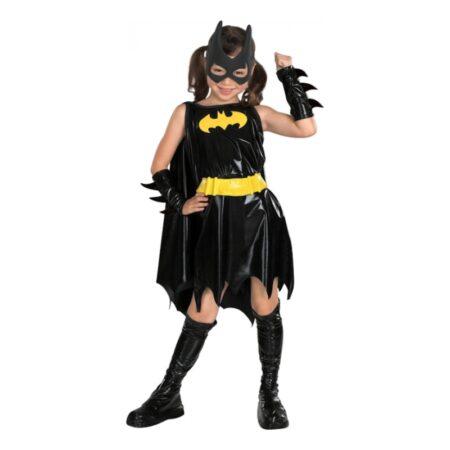 batgirl kostume til piger batgirl børnekostume batgirl superhelte kostume til piger sort fastelavnskostume til piger