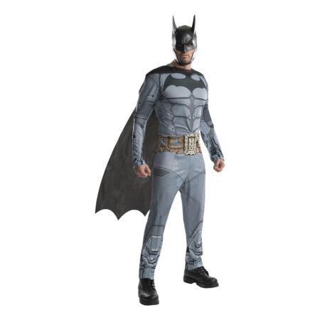 batman arkham kostume til voksne arkham voksenkostume arkham batman dragt udklædning til mænd