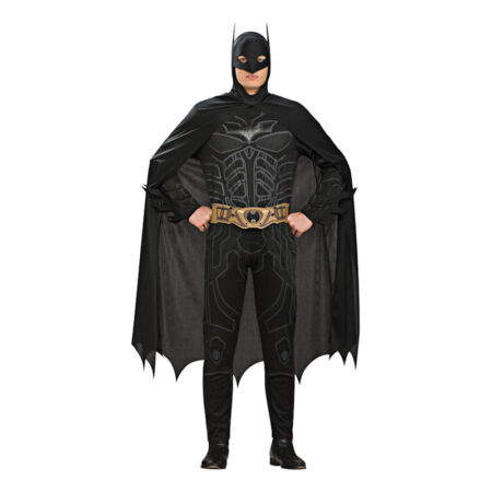 batman dark knight kostume til mænd batman udklædnind sort kostume til voksne