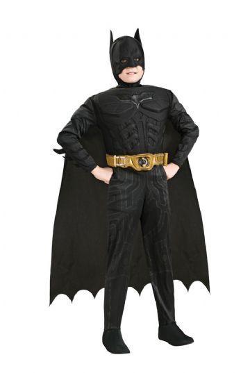 batman kostume til børn luksus kostume superheltekostume