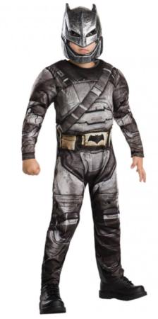 batman luksus fastelavnskostume superhelte kostume deluxe batman justice league udklædning