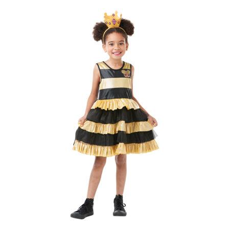 bidronning kostume dronningebi kostume til børn