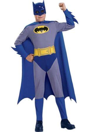 blå batman kostume til børn