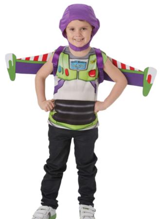 buzz lightyear kostume med vinger luksus toy story kostume