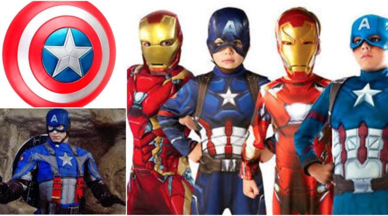 captain america kostume fastelavn kaptajn amerika fastelavnskostume captain amerika kostume udklædning