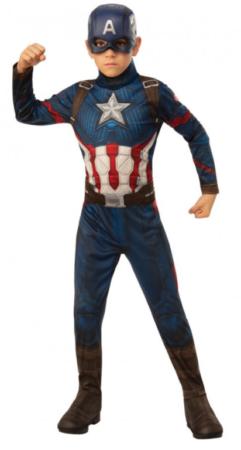 captain america kostume 6 år fastelavnskostume marvel endgame avengers kostume captain america børnekostume