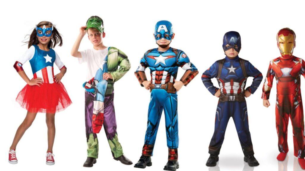 captain america kostume til børn captain america børnekostume superhelte kostume til børn marvel børnekostume