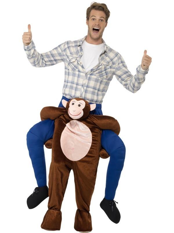 carry me abe kostume til voksne sjovt abekostume anderledes abekostume sidde på abe kostume
