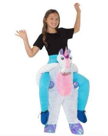 carry me enhjørning kostume 356x450 - Enhjørning kostume til børn