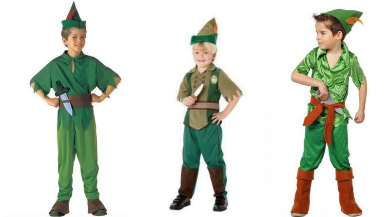collage 1 800x445 - Peter Pan kostume til børn