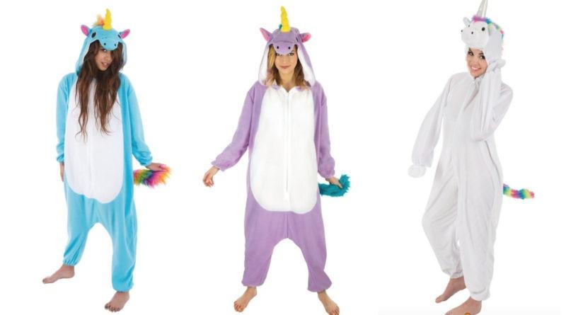 Enhjørning kostume til voksne, enhjørning udklædning til voksne, enhjørning dragt til voksne, enhjørning onepiece til voksne, unicorn kostumer til voksne, unicorn voksenkostumer, unicorn udklædning til voksne, kostumeuniverset