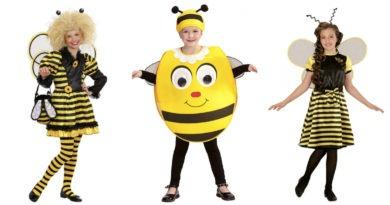 bi kostume til børn, bi udklædning til børn, bi børnekostumer, bi kostumer