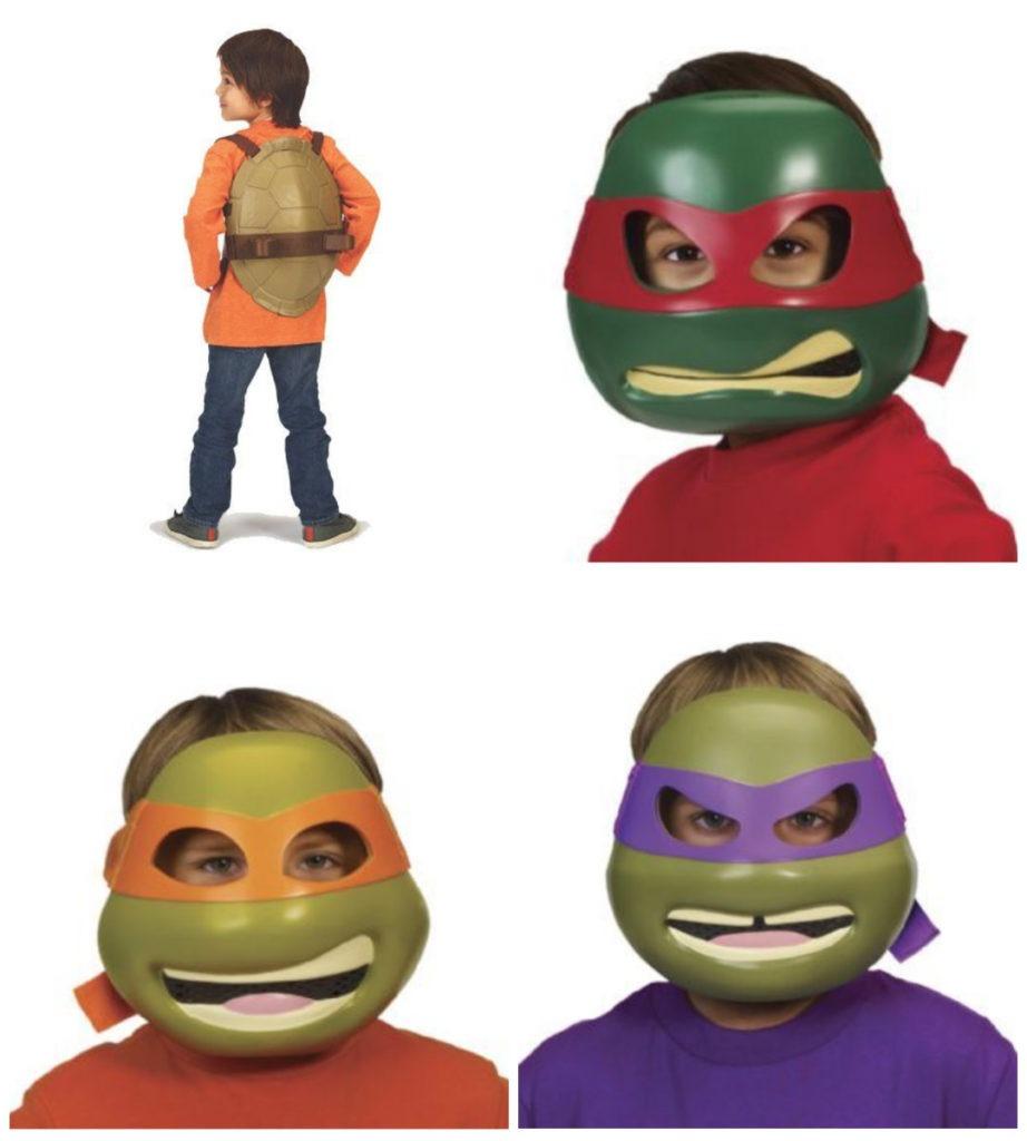 collage 20 922x1024 - Ninja turtles kostume til børn