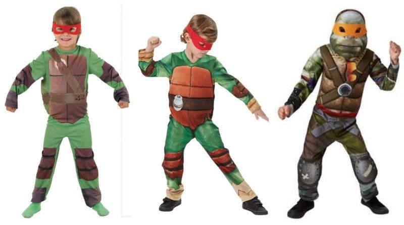 ninja turtles kostume til børn, ninja turtles børnekostumer, ninja turtles udklædning til børn, ninja turtles masker til børn, ninja turtles gaver til børn