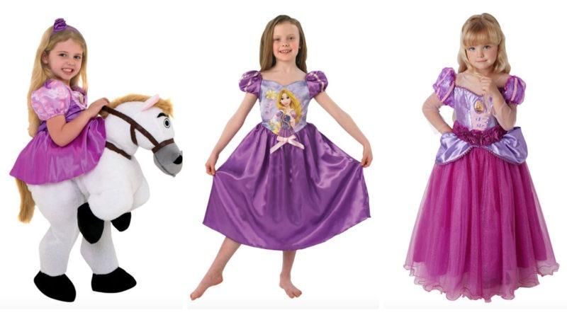 rapunzel kostume til børn, rapunzel udklædning til børn, rapunzel kjole til børn, rapunzel børnekostumer, disney prinsesse kostume, disney kostumer til børn, kostumeuniverset