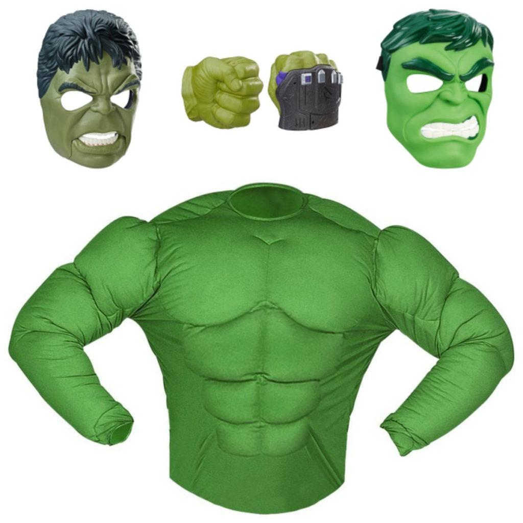 hulk børnekostume hulk kostume til børn tilbehør til hulk kostume