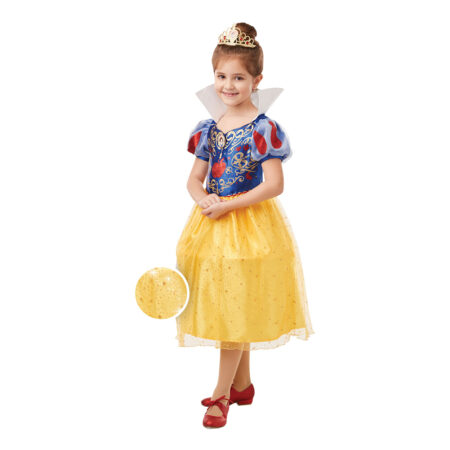 deluxe glimmer snehvide udklædning til Disney prinsesser