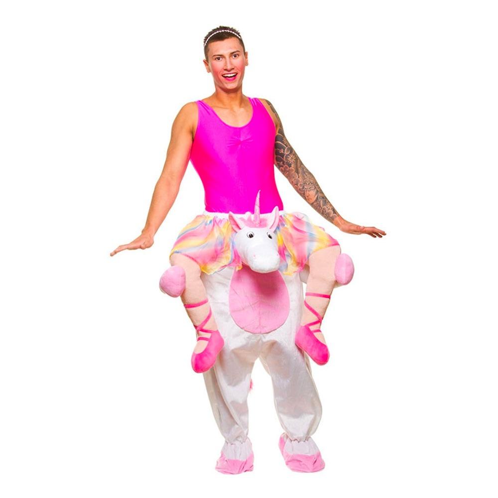 enhjøring kostume til voksne unicorn kostume oppustelig kostume unicorn enhjøring udklædning carry me enhjørning