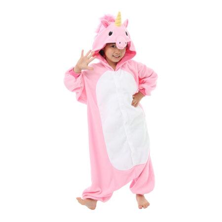 enhjørning børnekigurumi 450x450 - Enhjørning kostume til børn