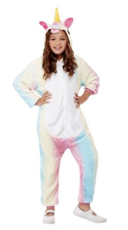 enhjørning heldragt 250x450 - Enhjørning kostume til børn