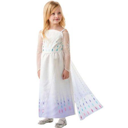 frost 2 elsa hvid kjole 450x450 - Elsa kostume til børn