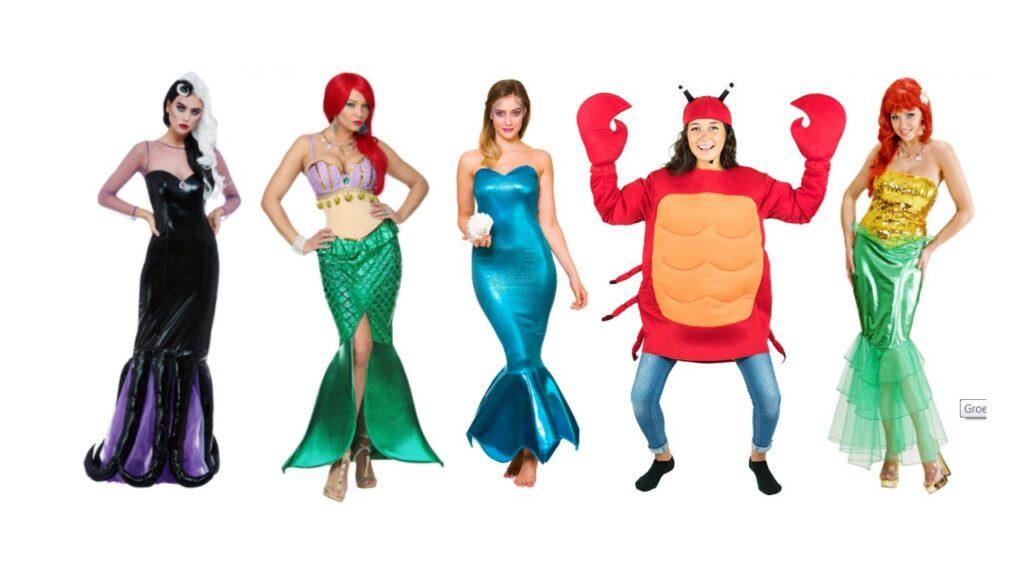 havfrue kostume til voksne ariel kostume til kvinder havfrue udklædning voksne