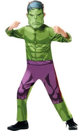 hulk kostume grønt kostume hulk børnekostume marvel kostume superhelt kostume