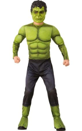 hulk kostume til børn grønt kostume til børn superhelt fastelavnskostume avengers kostume til drenge