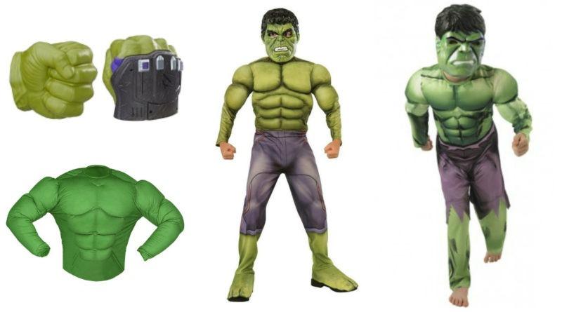 hulk kostume til børn hulk kostume til barn hulk børnekostume hulk the incredible hulk udklædning hulk avengers kostume