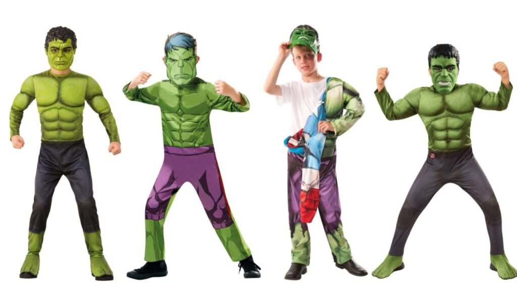 hulk kostume til drenge hulk børnekostume marvel fastelavnskostume superhelt børnekostume hulken kostume til børn