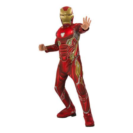 iron man infinity war kostume til børn iron man børnekostume iron man fastelavnskostume