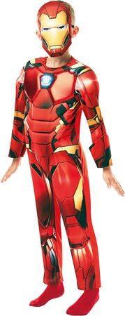iron man kostume iron man børnekostume marvel kostume til barn avengers kostume til drenge