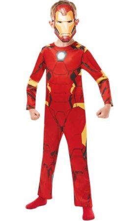 iron man kostume til børn budget kostume til børn marvel børnekostume