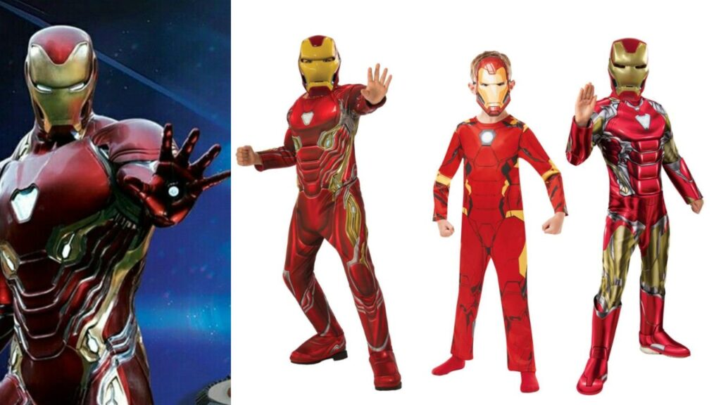 iron man kostume til børn endgame iron man børnekostume fastelavnskostume superhelt