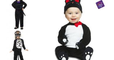 kattekostume til baby babykostume kat udklædning