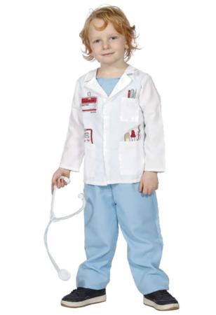 kommende læge kostume til de mindste