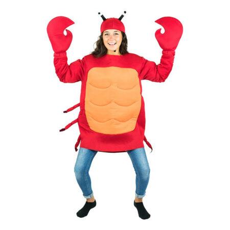 krabbe kostume sebastian kostume til voksne krabbe voksen kostume hav kostume dyrekostume