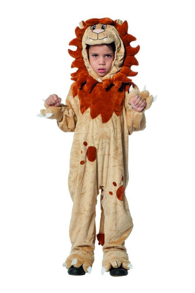 løve kostume til børn løveudklædning løvekostume heldragt