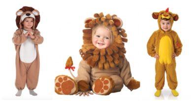 løve kostume til baby, løve udklædning til baby, løve babykostume, løve heldragt til baby, løve kostumer, løve børnekostumer, dyrekostumer til børn, dyrekostumer til baby