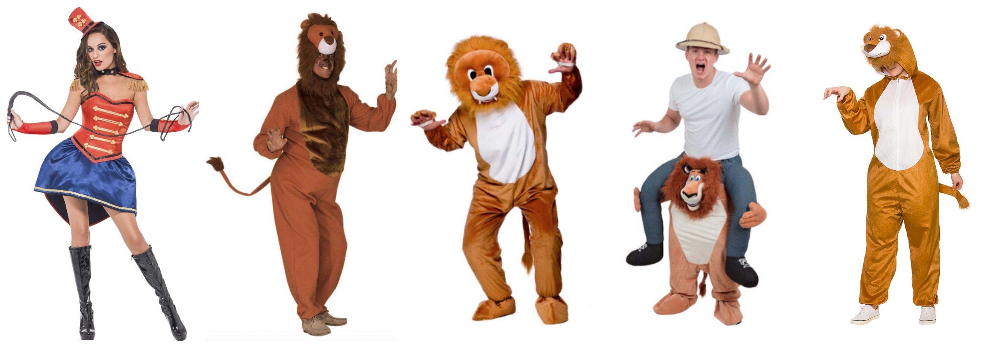 løve kostume til voksne 1 - Løve kostume til voksne