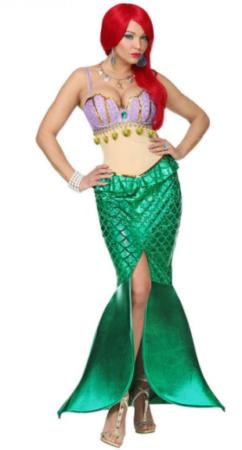 elegant kostume til kvinder havfrue kostume til voksne