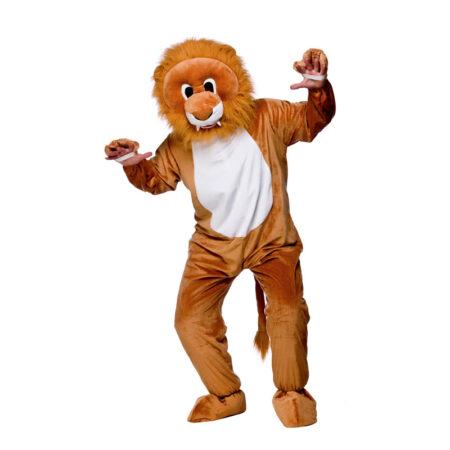 løve maskot kostume