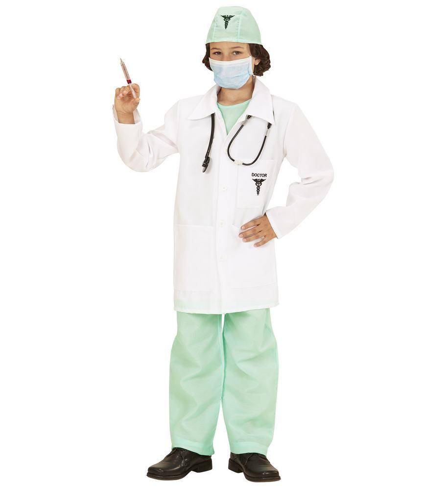 lille læge lægekostume til børn kirurg udklædning